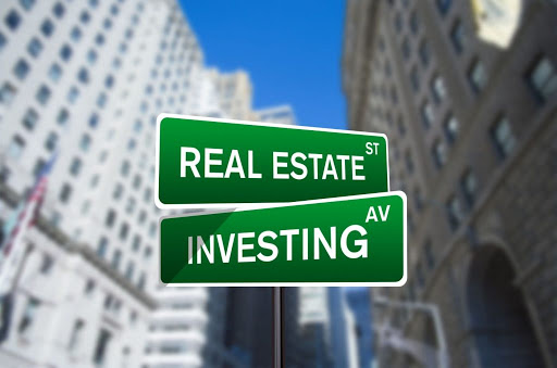 Real Estate Investing street signs